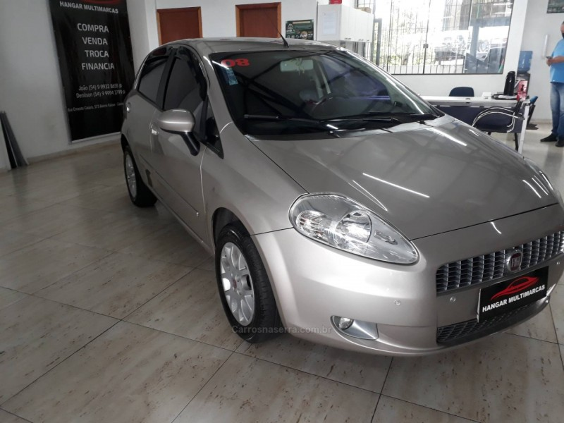 punto 1.8 hlx 8v flex 4p manual 2008 caxias do sul