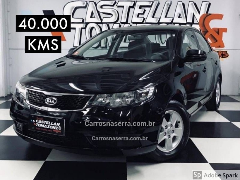 cerato 1.6 e.213 sedan 16v gasolina 4p manual 2013 caxias do sul