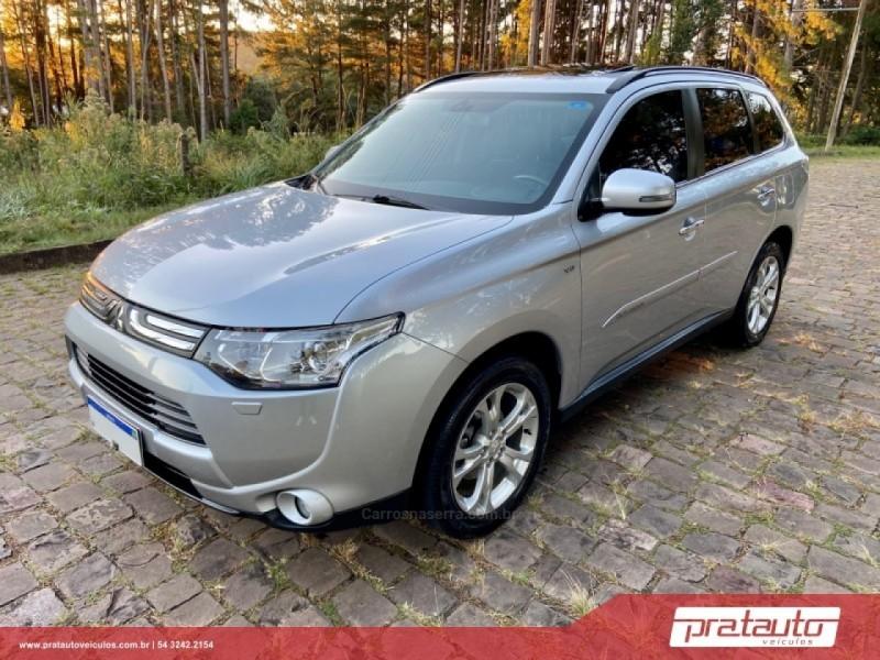 outlander 3.0 gt 4x4 v6 24v gasolina 4p automatico 2014 nova prata