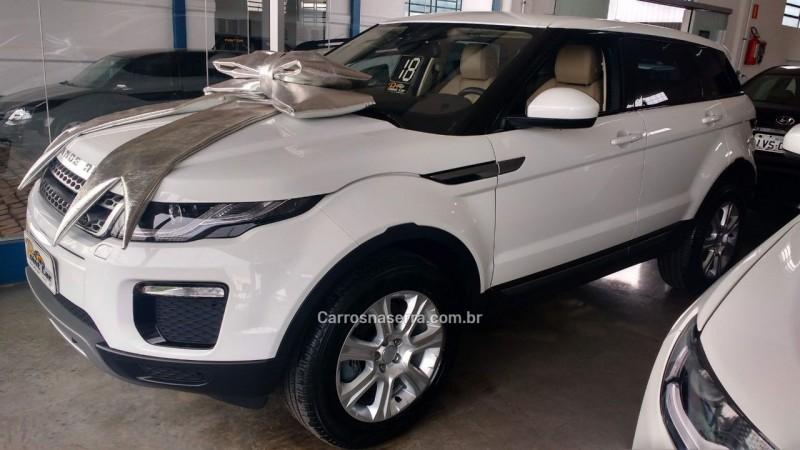 4aaab1bafc9ad RANGE ROVER EVOQUE 2.0 SE 4WD 16V GASOLINA 4P AUTOMÁTICO - 2018 - VACARIA  ...