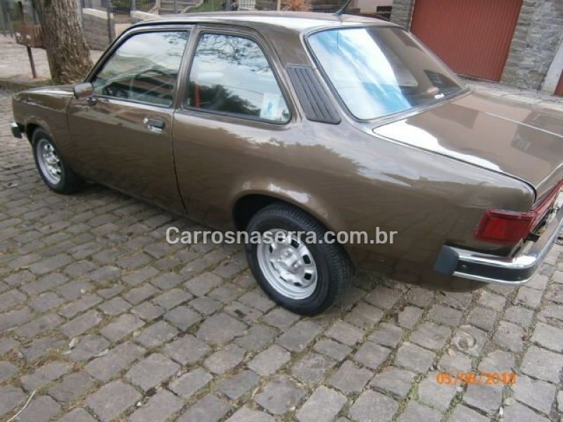 chevette 1.4 sl 8v gasolina 2p manual 1981 nova prata