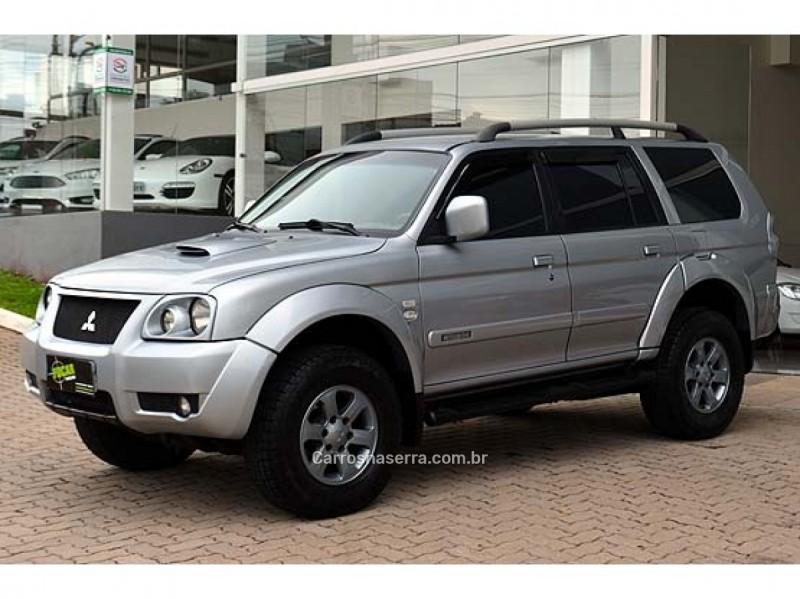 pajero sport 2.5 hpe 4x4 8v turbo intercooler diesel 4p automatico 2008 caxias do sul