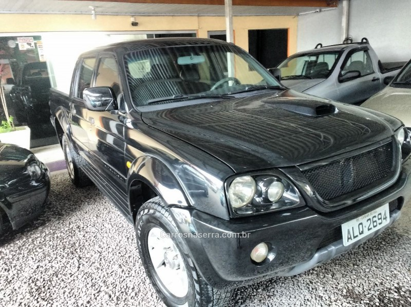 l200 2.5 sport hpe 4x4 cd 8v turbo intercooler diesel 4p automatico 2004 caxias do sul