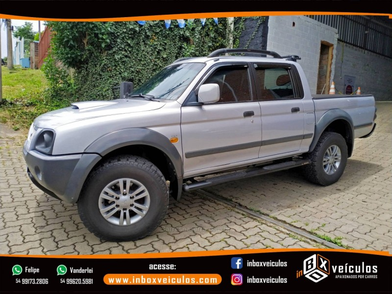 l200 outdoor 2.5 hpe 4x4 cd 8v turbo intercooler diesel 4p manual 2009 gramado