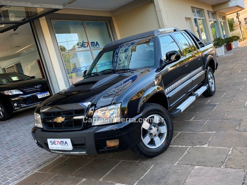 s10 2.8 executive 4x4 cd 12v turbo electronic intercooler diesel 4p manual 2009 guapore