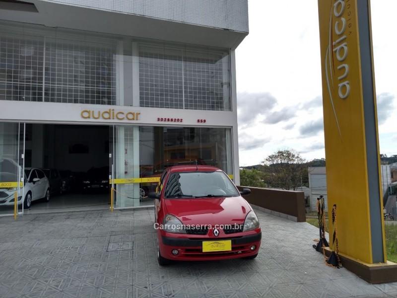 clio 1.0 authentique 8v gasolina 2p manual 2004 caxias do sul
