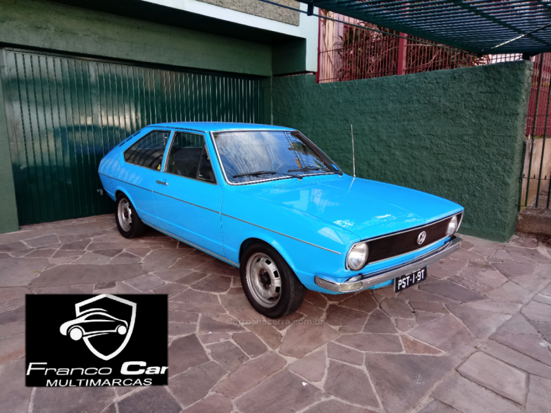 passat 1.5 ls 8v gasolina 2p manual 1975 caxias do sul