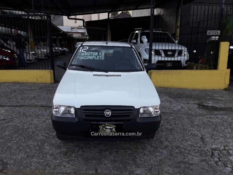 UNO 1.0 WAY 8V FLEX 4P MANUAL - 2012 - CAXIAS DO SUL