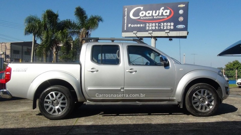 frontier 2.5 sl 4x4 cd turbo eletronic diesel 4p automatico 2015 farroupilha