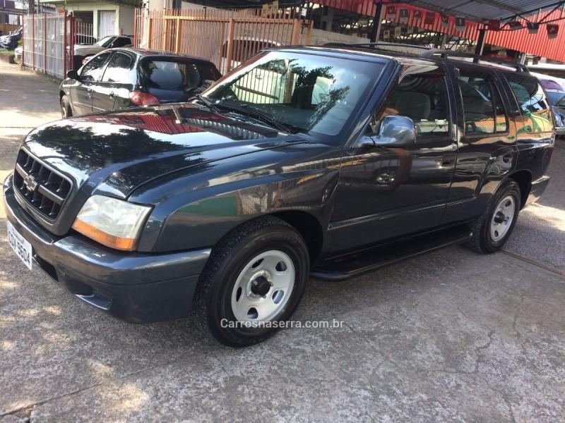 blazer 2.4 mpfi 4x2 8v gasolina 4p manual 2002 caxias do sul
