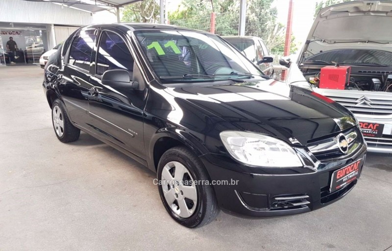 prisma 1.4 mpfi maxx 8v flex 4p manual 2011 caxias do sul