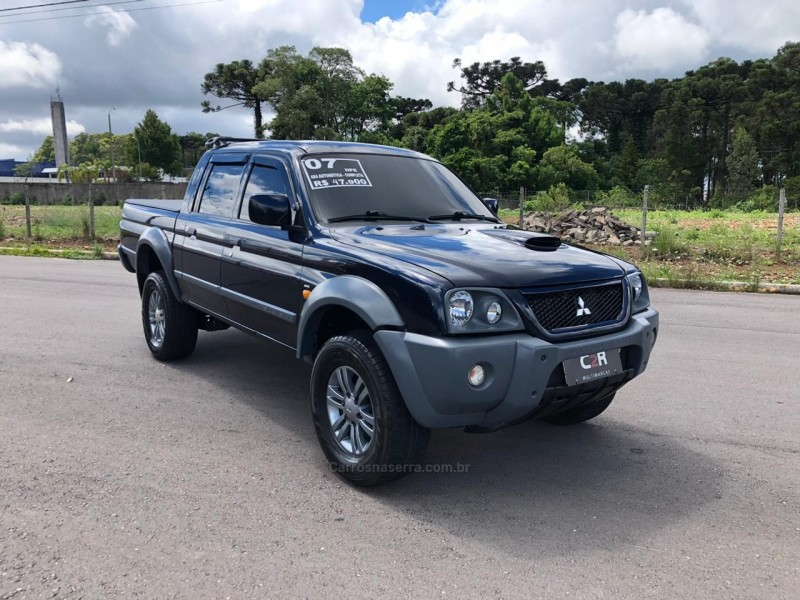 l200 outdoor 2.5 hpe 4x4 cd 8v turbo intercooler diesel 4p automatico 2007 caxias do sul