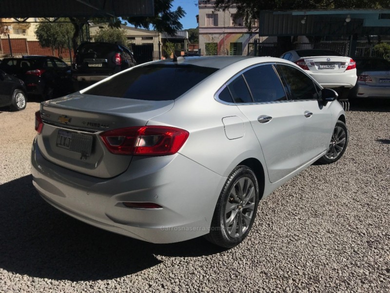 CRUZE 1.4 TURBO LTZ 16V FLEX 4P AUTOMÁTICO - 2017 - NOVA PRATA