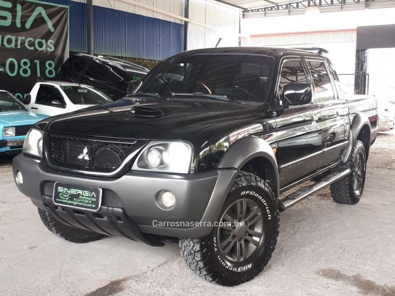l200 outdoor 2.5 gls 4x4 cd 8v turbo intercooler diesel 4p manual 2009 caxias do sul