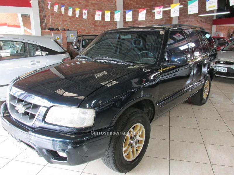 blazer 4.3 sfi dlx executive 4x4 v6 12v gasolina 4p automatico 1999 farroupilha