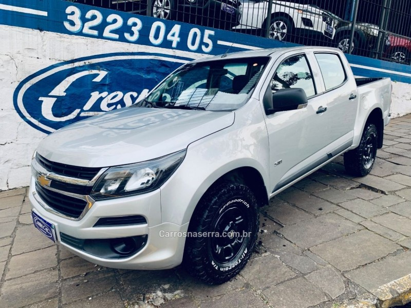 s10 2.8 ls 4x4 cd 16v turbo diesel 4p manual 2018 caxias do sul