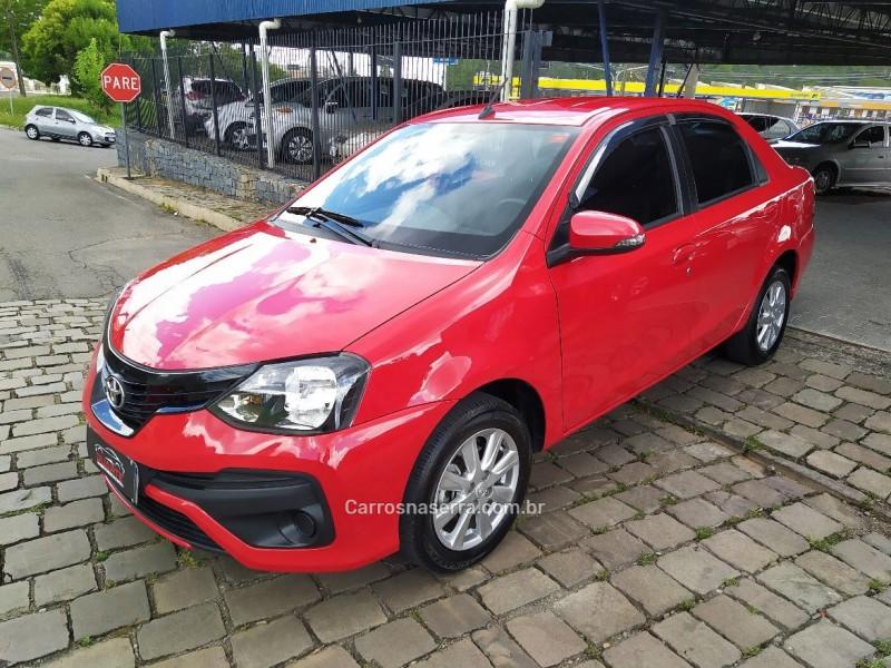 etios 1.5 x plus sedan 16v flex 4p automatico 2019 caxias do sul