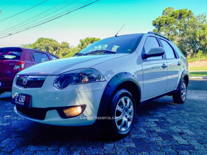 palio 1.6 trekking weekend 16v flex 4p manual 2016 dois irmaos