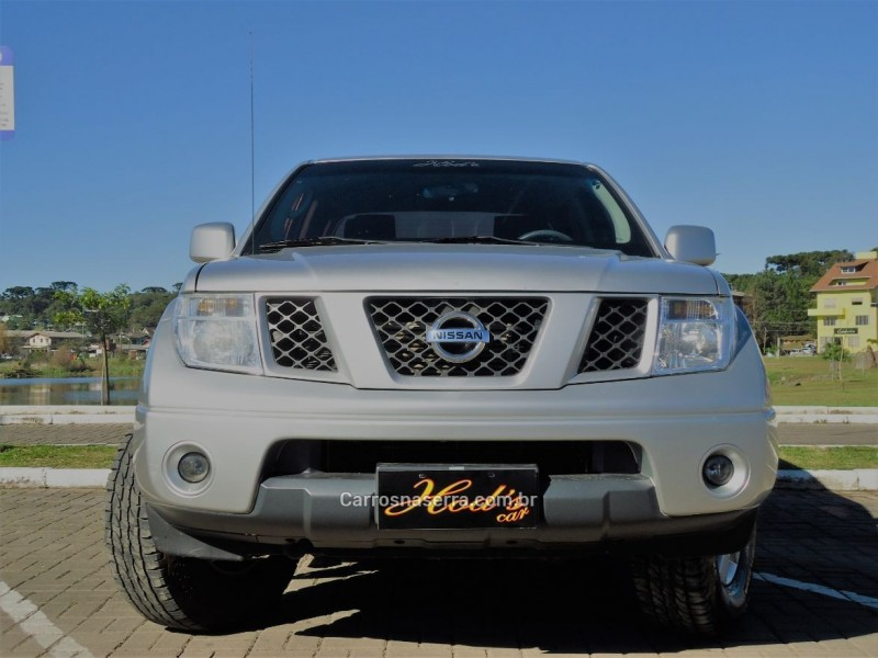 frontier 2.5 xe 4x4 cd turbo eletronic diesel 4p manual 2012 canela