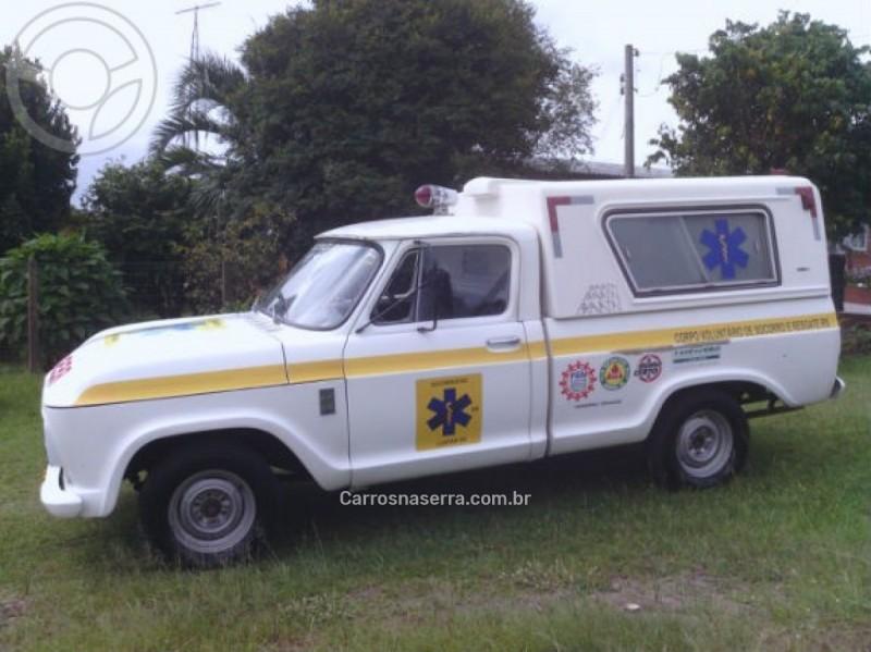 C10 2.5 CS 8V GASOLINA 2P MANUAL - 1976 - SãO SEBASTIãO DO CAí
