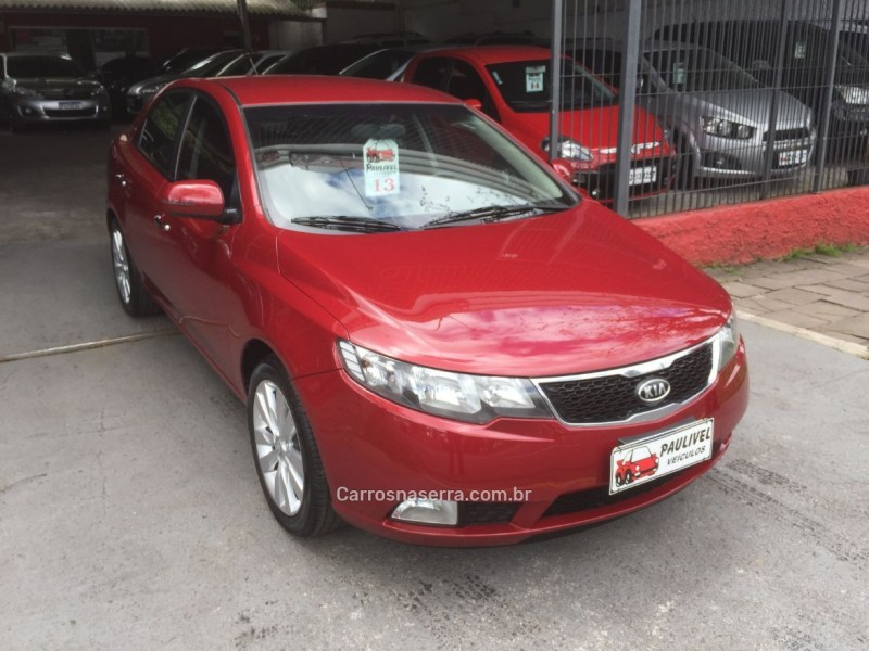 cerato 1.6 sx3 16v gasolina 4p automatico 2013 caxias do sul