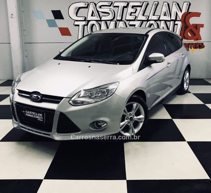 focus 1.6 se 16v flex 4p powershift 2015 caxias do sul