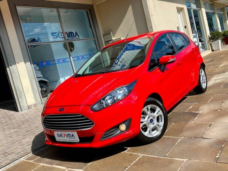 fiesta 1.5 se hatch 16v flex 4p manual 2014 guapore