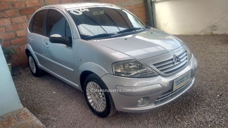 c3 1.6 i exclusive 16v gasolina 4p manual 2004 caxias do sul