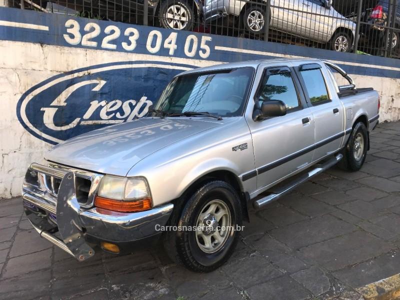 ranger 2.5 xlt 4x2 cd 8v turbo intercooler diesel 4p manual 2000 caxias do sul