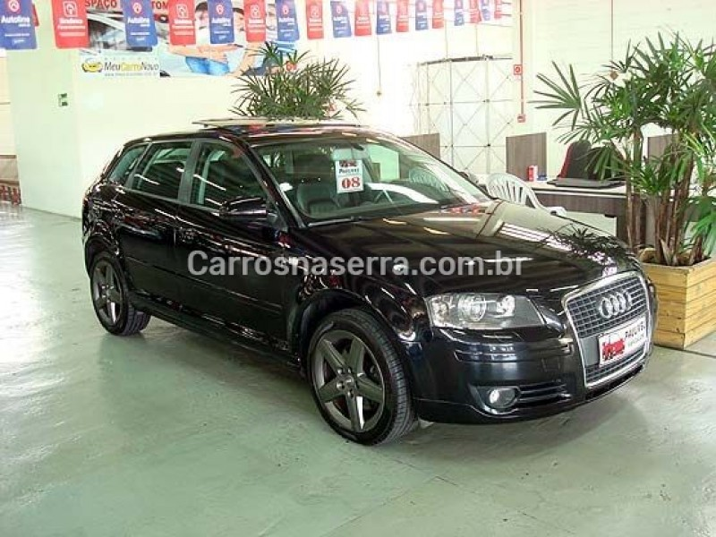 a3 2.0 tfsi sportback 16v gasolina 4p s tronic 2008 caxias do sul