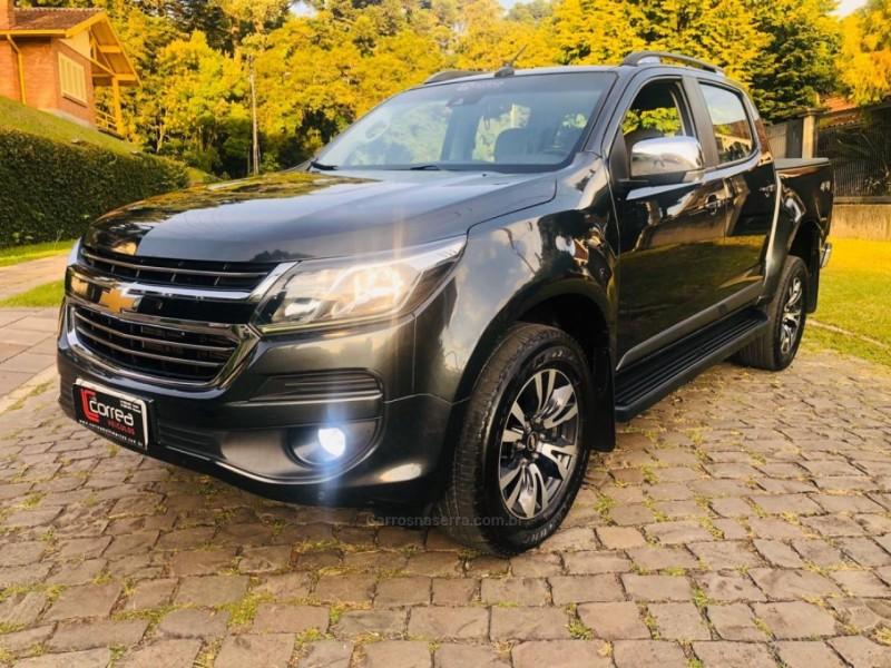 s10 2.8 ltz 4x4 cd 16v turbo diesel 4p automatico 2017 canela