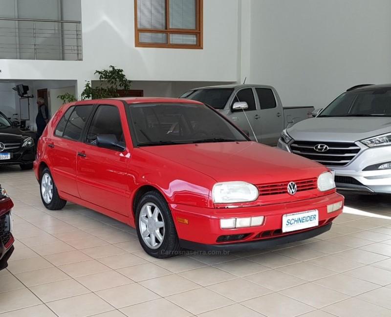 golf 1.8 mi gl 8v gasolina 4p manual 1996 nova petropolis