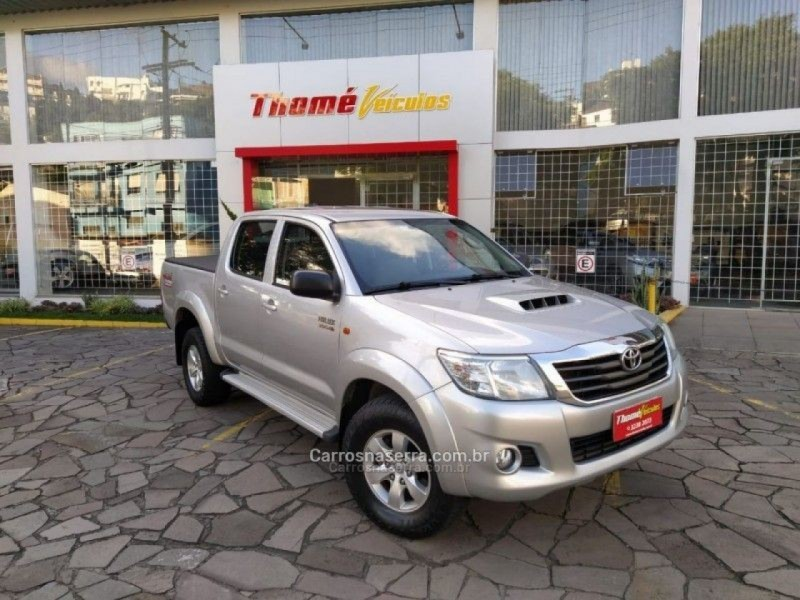 hilux 3.0 sr 4x4 cd 16v turbo intercooler diesel 4p automatico 2014 caxias do sul