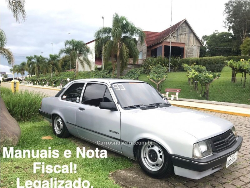 chevette 1.6 l 8v gasolina 2p manual 1993 caxias do sul