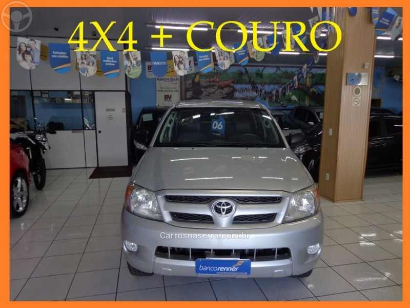 hilux 2.5 4x4 cd 16v turbo diesel 4p manual 2006 caxias do sul