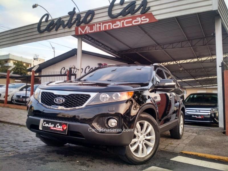 sorento 2.4 ex2 4x2 16v gasolina 4p 7 lugares automatico 2011 caxias do sul