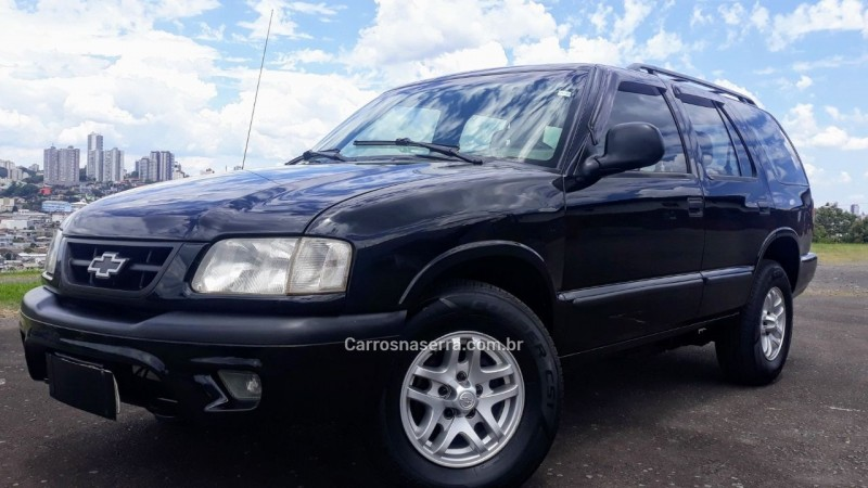blazer 2.5 dlx 4x4 8v turbo diesel 4p manual 1999 caxias do sul