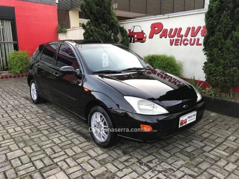 focus 1.8 16v gasolina 4p manual 2002 caxias do sul
