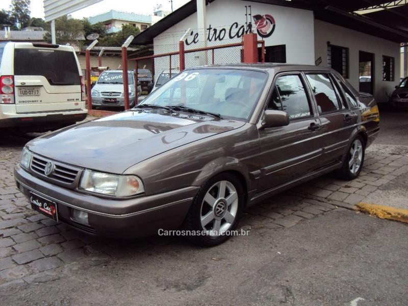 santana 2.0 gls 8v gasolina 4p manual 1996 caxias do sul