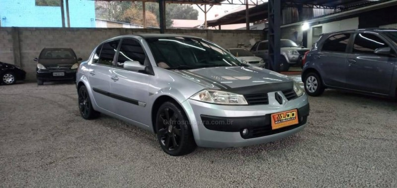 megane 2.0 dynamique sedan 16v gasolina 4p automatico 2007 caxias do sul
