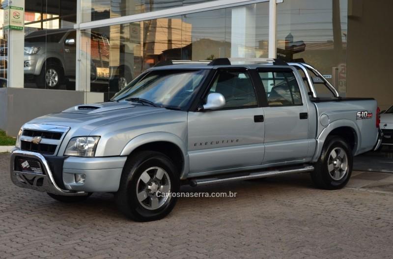 s10 2.8 executive 4x4 cd 12v turbo intercooler diesel 4p manual 2009 caxias do sul