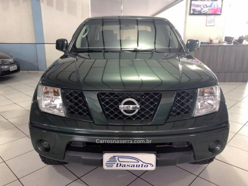 frontier 2.5 se 4x4 cd turbo eletronic diesel 4p manual 2009 caxias do sul
