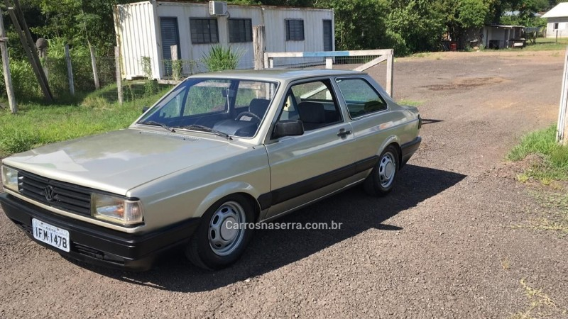 voyage 1.6 gl 8v gasolina 2p manual 1989 sao sebastiao do cai