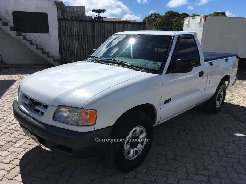 s10 2.2 mpfi std 4x2 cs 8v gasolina 2p manual 1996 caxias do sul