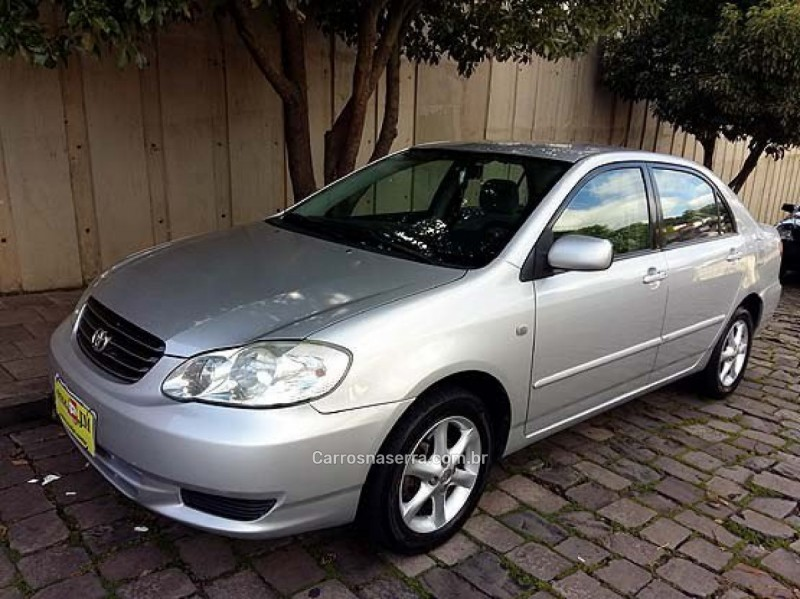 corolla 1.8 xei 16v gasolina 4p manual 2003 caxias do sul