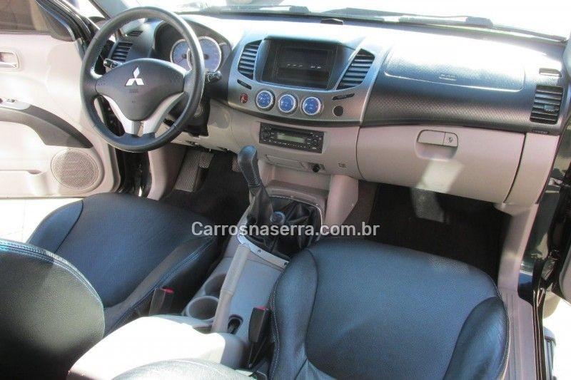 l200 triton 3.2 hpe 4x4 cd 16v turbo intercooler diesel 4p manual 2009 bento goncalves