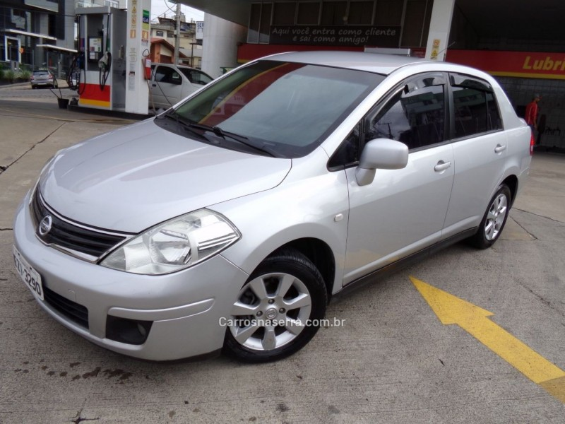 tiida 1.8 sedan 16v flex 4p manual 2012 caxias do sul