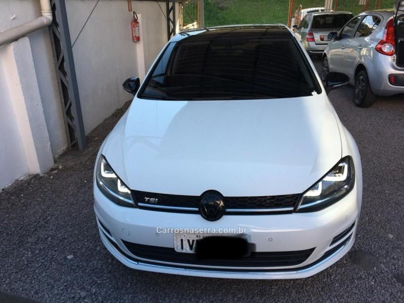 golf 1.4 tsi highline 16v gasolina 4p automatico 2015 caxias do sul