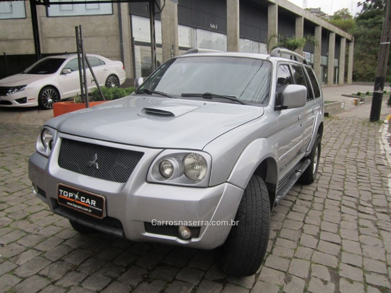 pajero 2.5 hd 4x4 8v turbo intercooler diesel 4p manual 2008 carlos barbosa