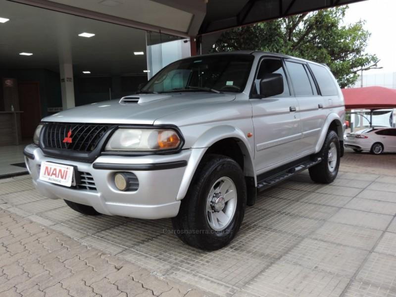 pajero sport 2.8 gls 4x4 8v turbo intercooler diesel 4p automatico 2002 ivoti